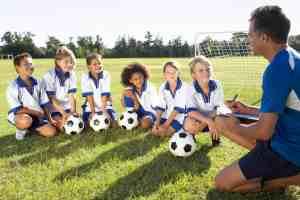 soccer coach equipment