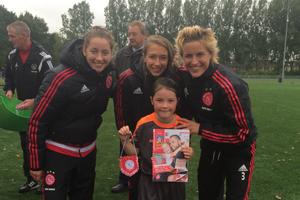 Ajax talenttraining voor meiden