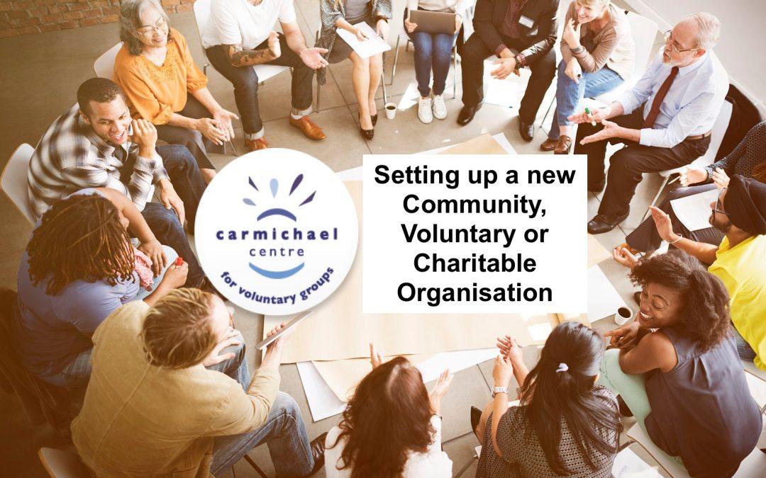 Setting up a new Social Enterprise or Charitable Organisation