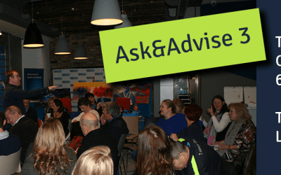 Only two weeks left to out third Ask&Advise Evening!