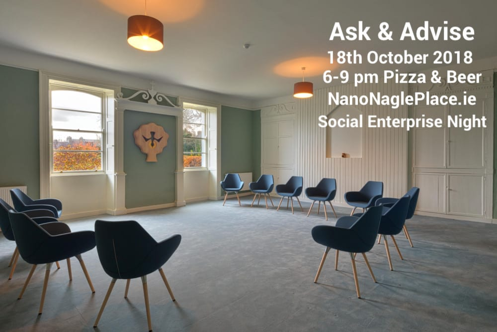 Ask & Advise Cork 17th October 2018