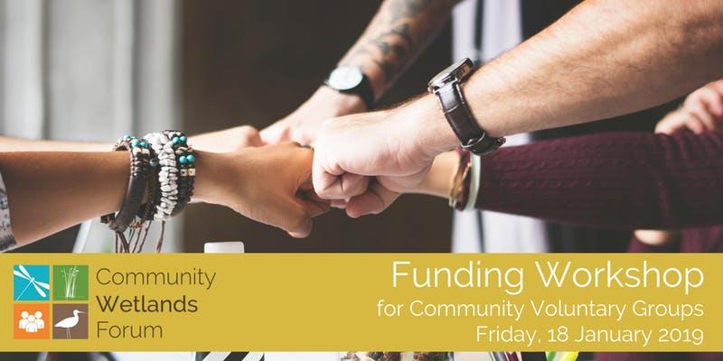 Funding Workshop Community Wetlands Forum