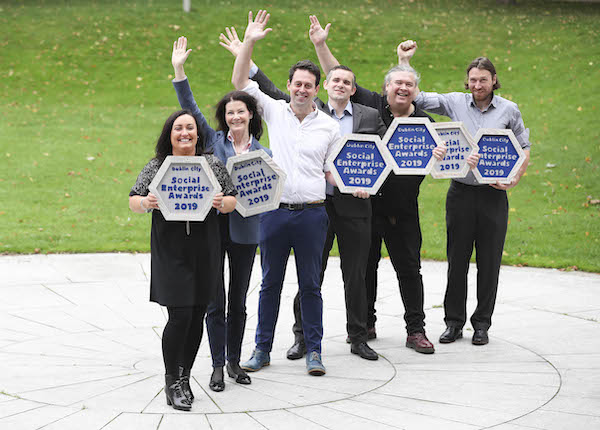 Dublin City Social Enterprise Awards 2019 – €50,000 fund presented to winners