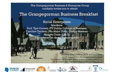 Grangegorman Business Breakfast for Social Enterprises
