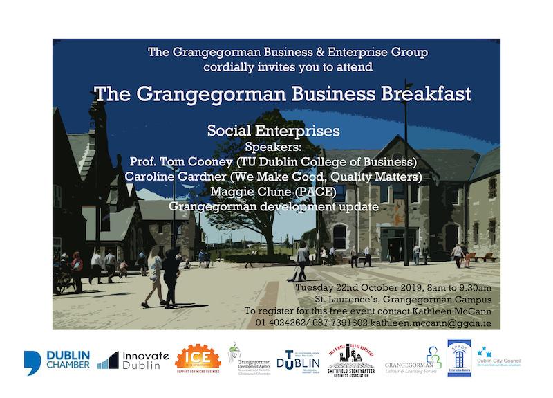 Grangegorman Business Breakfast for Social Enterprises