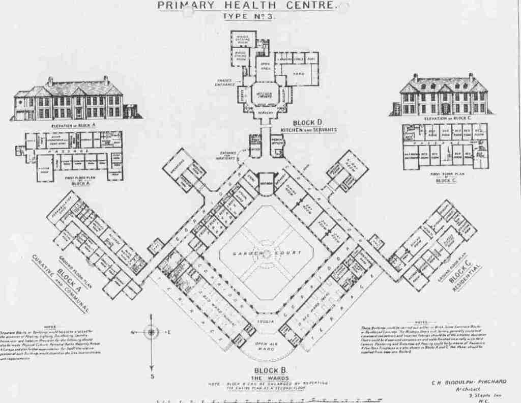 Primary Health Centre Design 1920