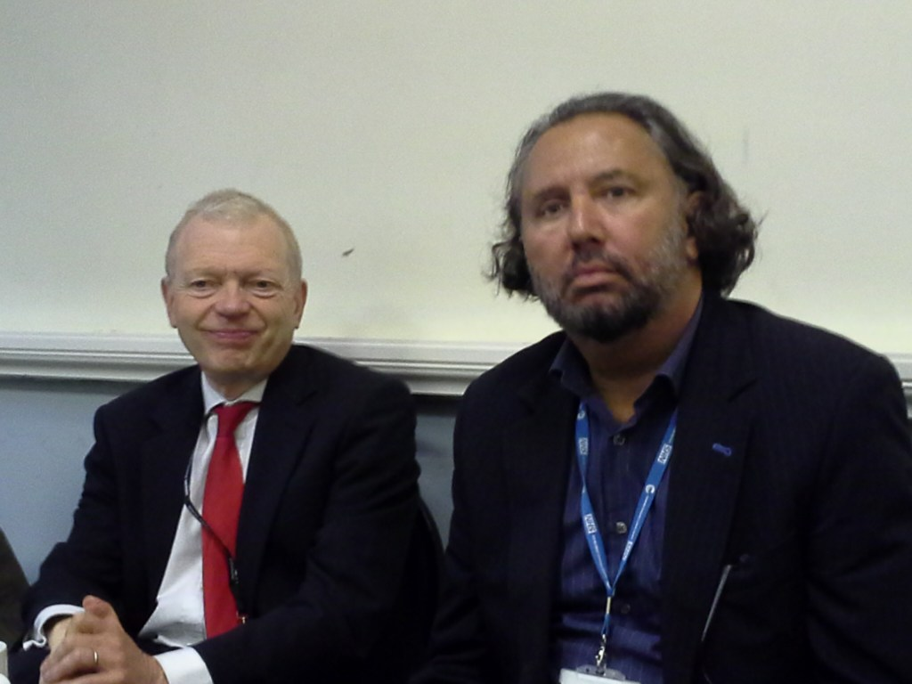 Lord Phil Hunt and Dr Ivan Benett