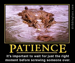 """Patience"""