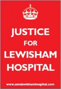 Justice for Lewisham Hospital