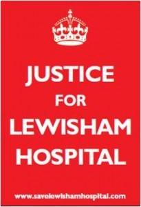 Justice for Lewisham Hospital