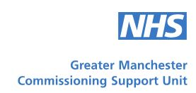 Greater Manchester Commissioning Support Unit