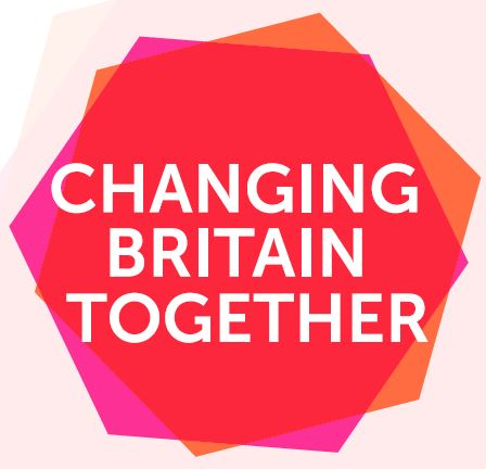 Logo Changing Britain Together