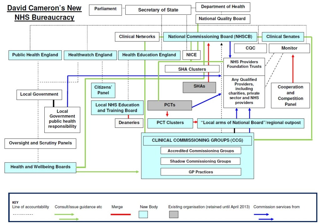 NHS Structure 2012