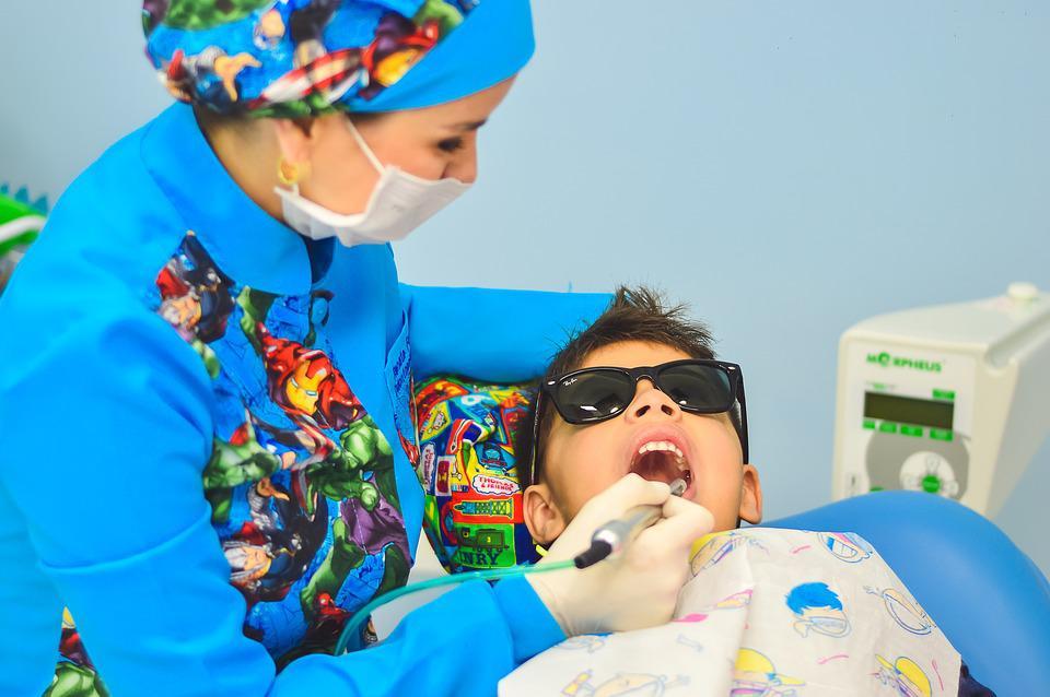 at the dentist