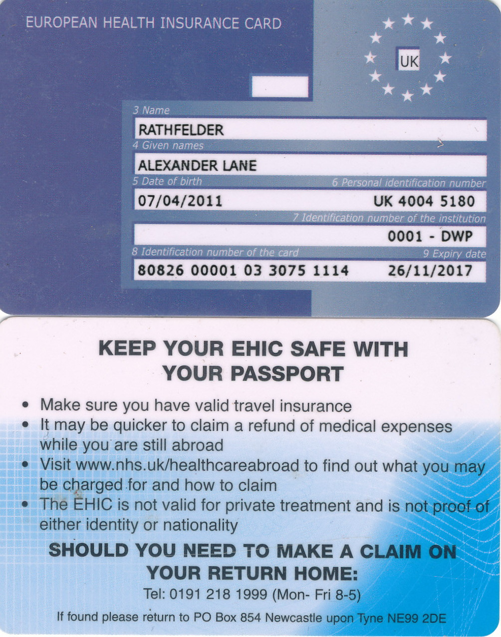 Renew Ehic Card Uk >> A Look At What Will Happen To The Ehic After Brexit