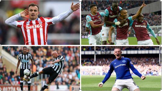 Gambling sponsors football