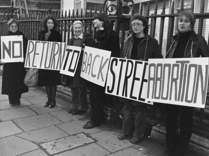 No return to backstreet abortion demo