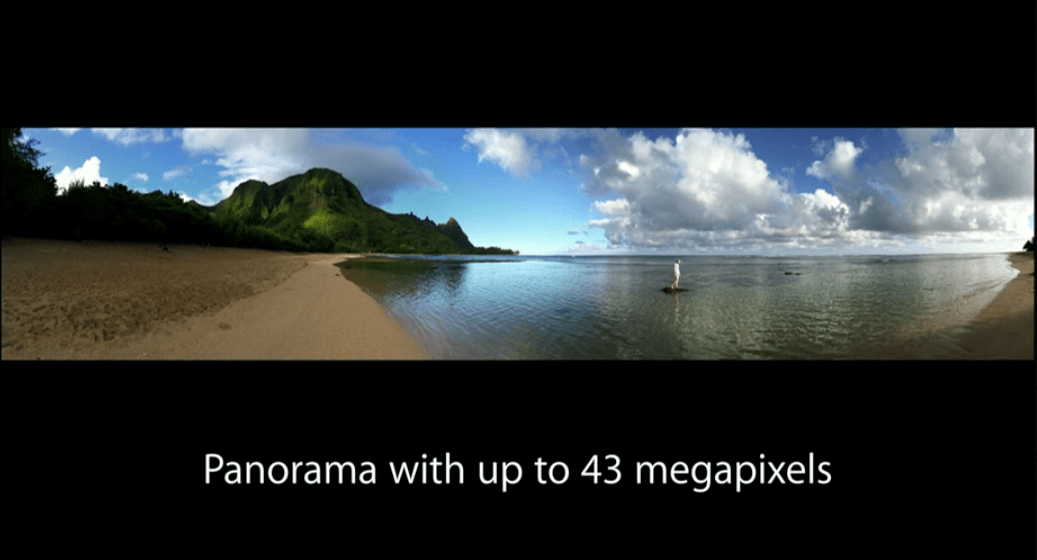 iPhone 6 - Camera - Panorama