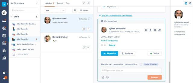 agorapulse-zero communication inbox