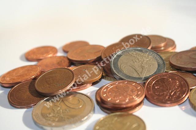 Business - Geld - Kleingeld - Münzen