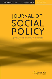 journal_of social policy