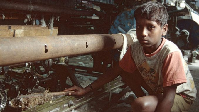Child labour is just one of the forms that modern slavery takes.