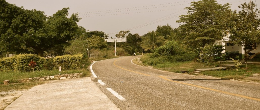 Image of road in Mexico