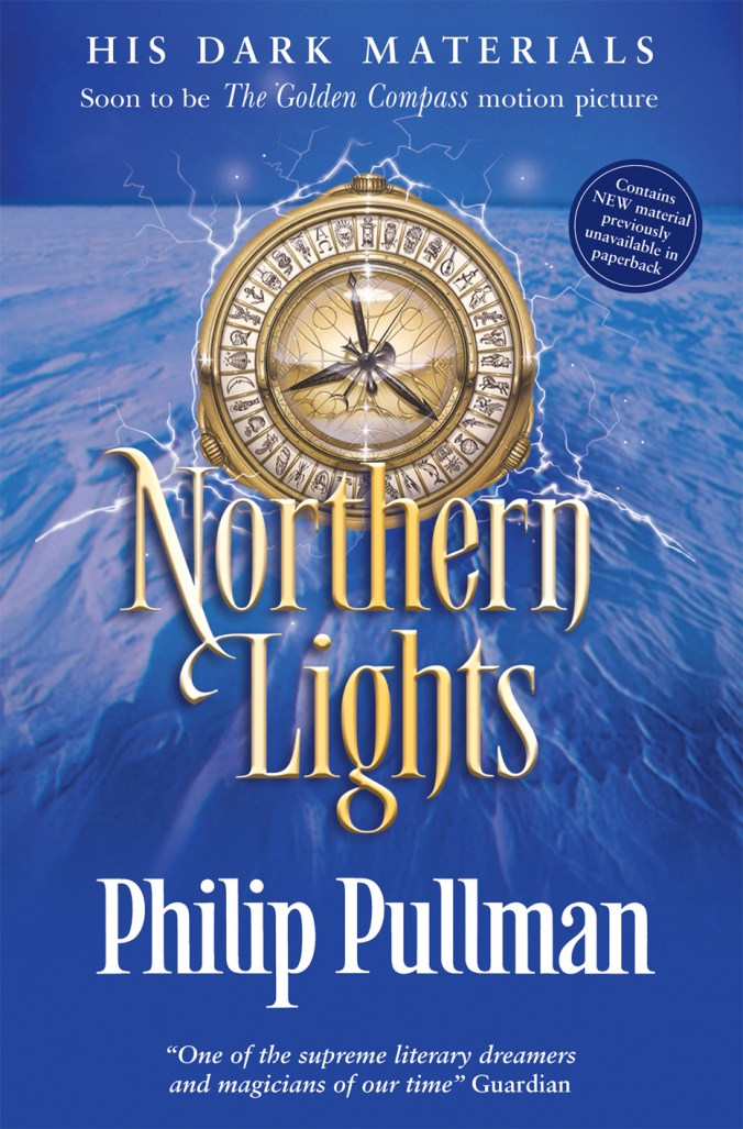Image result for northern lights philip pullman book cover