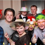 GL Events Christmas party photo booth
