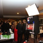 Recent photo booth in action