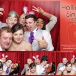 Hollie and Simon's wedding photo booth