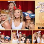 Alice's 18th Birthday party photo booth