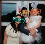 Mr and Mrs Golisti wedding photo booth
