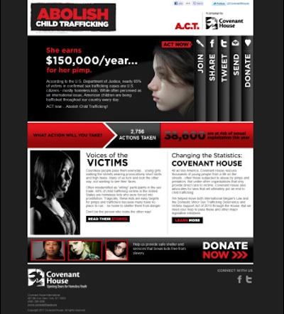 Abolish Child Trafficking
