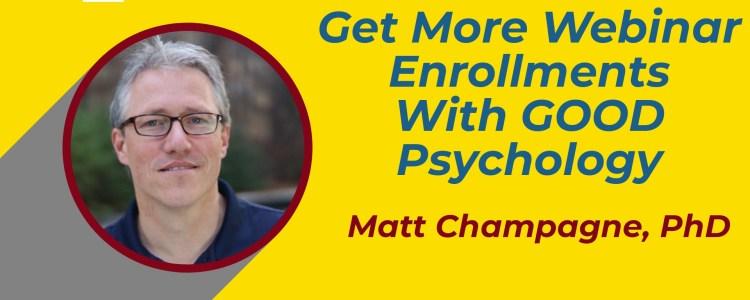 how to get more webinar enrollments