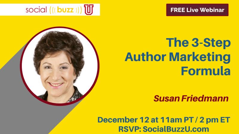 Susan Friedmann author marketing