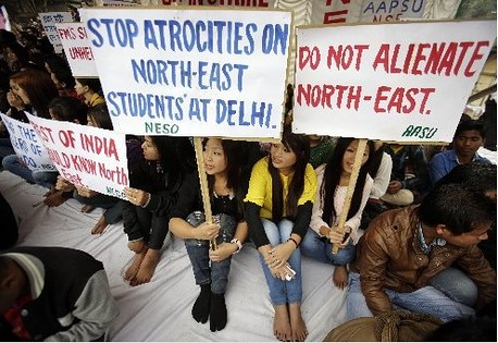 Are North East People Not Indians?