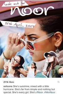 Sonakshi sinha ia All set to create a buzz with Noor
