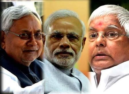 Lalu Nitish alliance