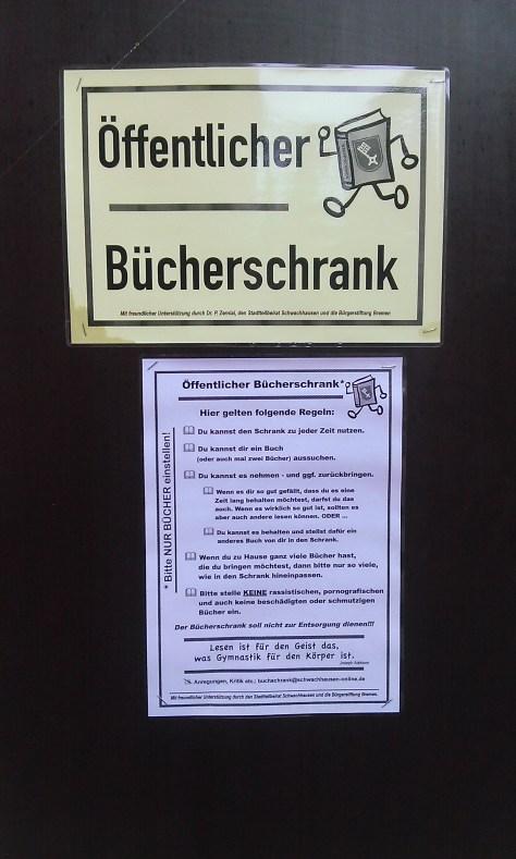 Kein Ding in Schwachhausen ohne Regeln...
