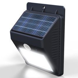 outdoor, solar powered, motion detecting light, led, amazon deal