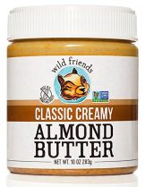 wild friends, almond butter, organic almond butter