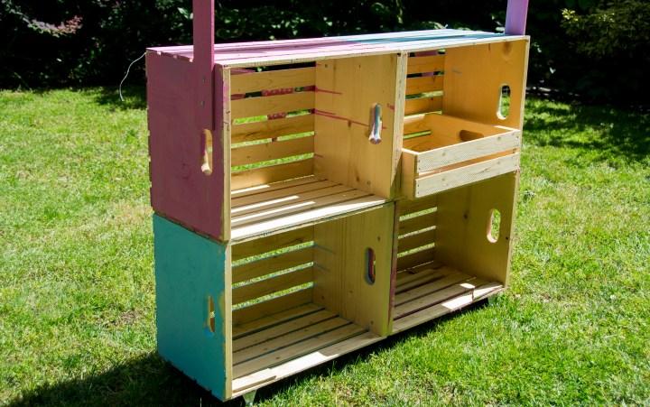 DIY Lemonade Stand, how to make a lemonade stand, home depot, home depot canada, lemonade stand plans, blueprints, easy diy,