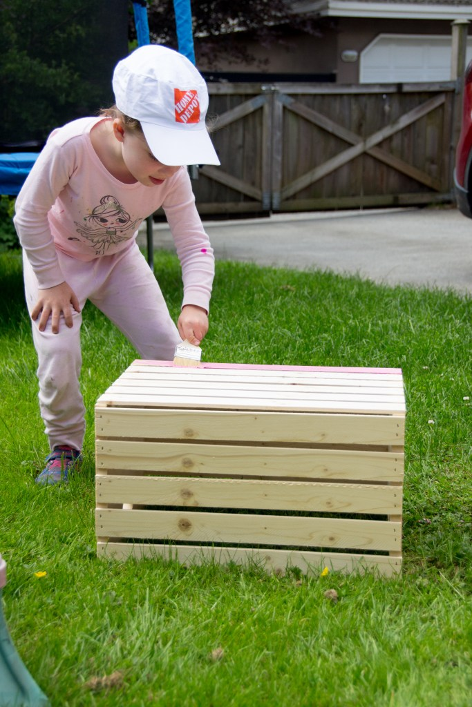 How to build a lemonade stand, home depot, canada, diy projects, wooden crates, lemonade stand, socialdad, dad blog, vancouver dad blog, canada, blog, yvr bloggers,
