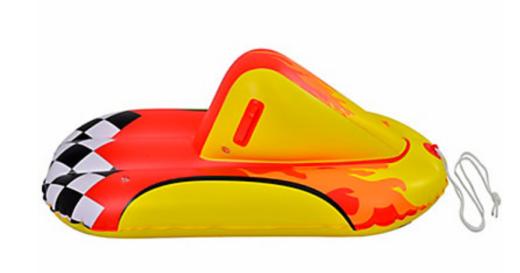 inflatable snow rider, inflatable sleigh, snow toys, canada, vancouver, social dad, socialdad.ca