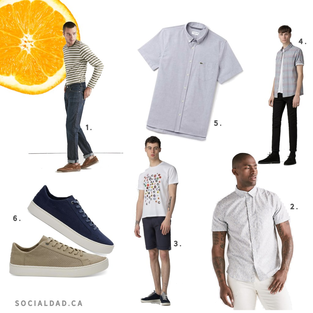 Dad fashion, fashionable men, dad clothes guide, tips for men, lacoste clothes, lacoste shirt, vancouver