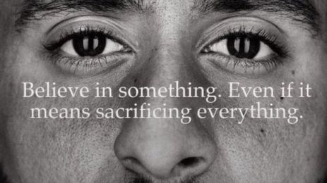 nike ad, believe in something, colin kapernick