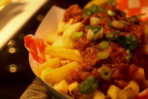 curry on fries, bc lions stadium food, restaurants at bc lions stadium, dad blog, vancouver food,
