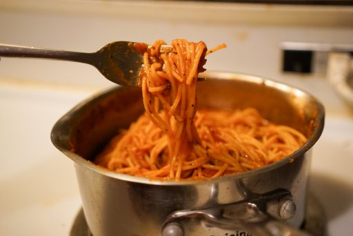 spaghetti, easy pasta recipes, catelli, dad blog