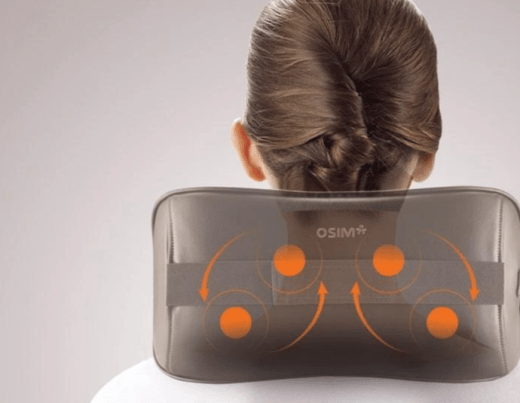 neck massager, osim, sore neck relief, self massage, tech reviews